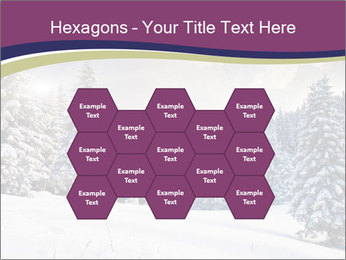 Fantastic evening winter PowerPoint Template - Slide 44