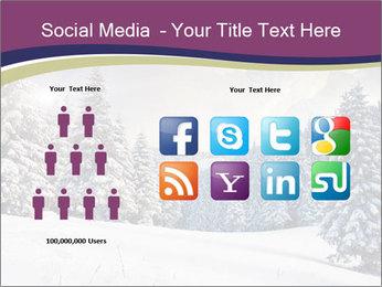 Fantastic evening winter PowerPoint Template - Slide 5