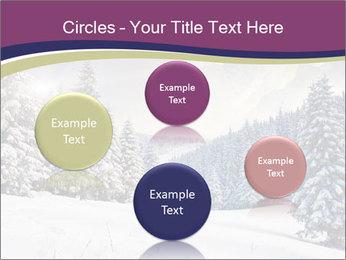 Fantastic evening winter PowerPoint Template - Slide 77