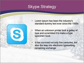 Fantastic evening winter PowerPoint Template - Slide 8