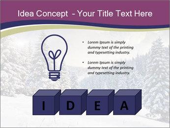 Fantastic evening winter PowerPoint Template - Slide 80