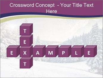 Fantastic evening winter PowerPoint Template - Slide 82