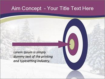 Fantastic evening winter PowerPoint Template - Slide 83