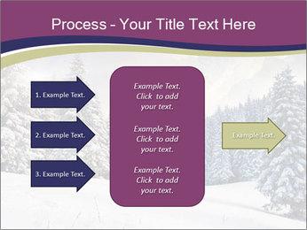 Fantastic evening winter PowerPoint Template - Slide 85