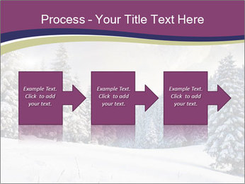 Fantastic evening winter PowerPoint Template - Slide 88
