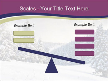 Fantastic evening winter PowerPoint Template - Slide 89