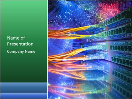 Technology Center PowerPoint Template