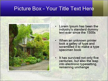 Garden at the front PowerPoint Templates - Slide 13