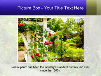 Garden at the front PowerPoint Templates - Slide 16
