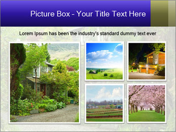 Garden at the front PowerPoint Templates - Slide 19