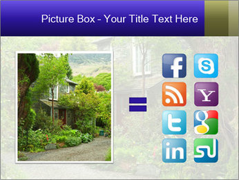 Garden at the front PowerPoint Templates - Slide 21
