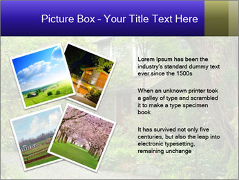 Garden at the front PowerPoint Templates - Slide 23