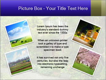 Garden at the front PowerPoint Templates - Slide 24