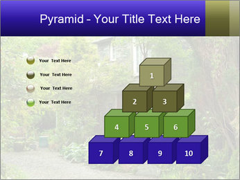 Garden at the front PowerPoint Templates - Slide 31