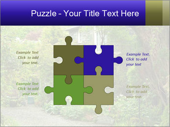 Garden at the front PowerPoint Templates - Slide 43