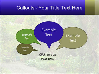 Garden at the front PowerPoint Templates - Slide 73