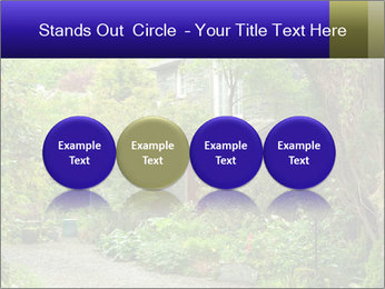 Garden at the front PowerPoint Templates - Slide 76