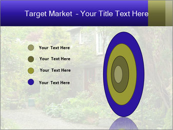 Garden at the front PowerPoint Templates - Slide 84