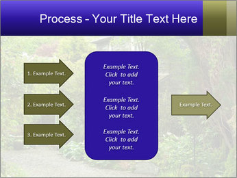 Garden at the front PowerPoint Templates - Slide 85