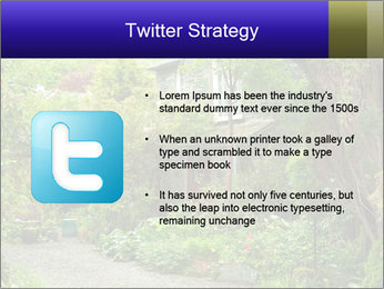 Garden at the front PowerPoint Templates - Slide 9