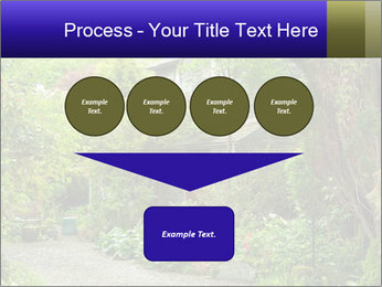 Garden at the front PowerPoint Templates - Slide 93