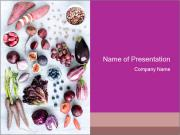 Collection of fresh purple PowerPoint Templates