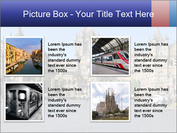 Victoria Terminus in Mumbai PowerPoint Templates - Slide 14