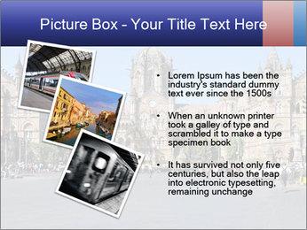 Victoria Terminus in Mumbai PowerPoint Templates - Slide 17