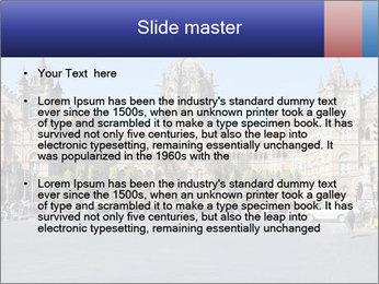 Victoria Terminus in Mumbai PowerPoint Templates - Slide 2