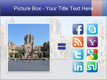 Victoria Terminus in Mumbai PowerPoint Templates - Slide 21
