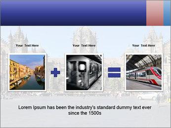 Victoria Terminus in Mumbai PowerPoint Templates - Slide 22