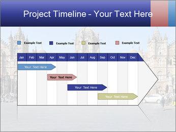 Victoria Terminus in Mumbai PowerPoint Templates - Slide 25