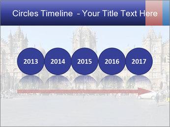 Victoria Terminus in Mumbai PowerPoint Templates - Slide 29