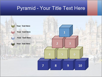 Victoria Terminus in Mumbai PowerPoint Templates - Slide 31