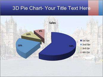 Victoria Terminus in Mumbai PowerPoint Templates - Slide 35