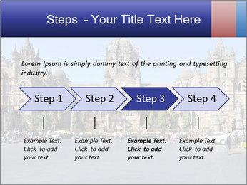 Victoria Terminus in Mumbai PowerPoint Templates - Slide 4