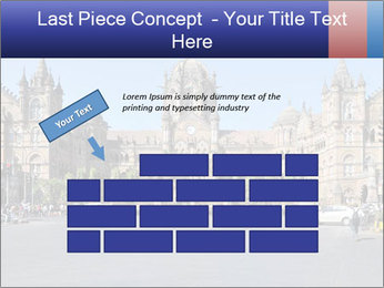 Victoria Terminus in Mumbai PowerPoint Templates - Slide 46
