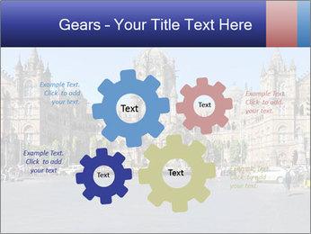 Victoria Terminus in Mumbai PowerPoint Templates - Slide 47
