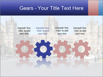 Victoria Terminus in Mumbai PowerPoint Templates - Slide 48