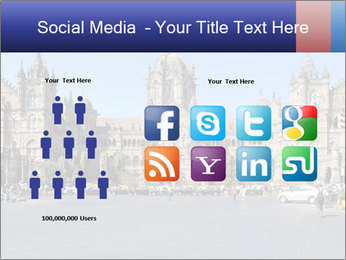 Victoria Terminus in Mumbai PowerPoint Templates - Slide 5