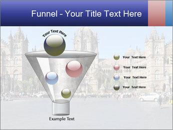 Victoria Terminus in Mumbai PowerPoint Templates - Slide 63