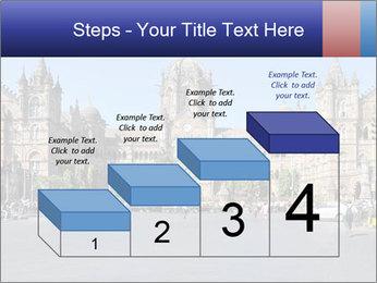 Victoria Terminus in Mumbai PowerPoint Templates - Slide 64