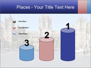 Victoria Terminus in Mumbai PowerPoint Templates - Slide 65