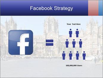 Victoria Terminus in Mumbai PowerPoint Templates - Slide 7