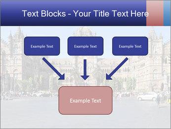 Victoria Terminus in Mumbai PowerPoint Templates - Slide 70
