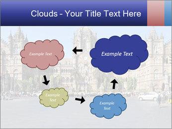 Victoria Terminus in Mumbai PowerPoint Templates - Slide 72