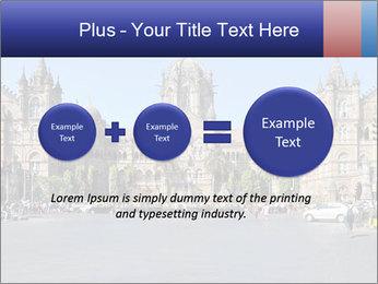 Victoria Terminus in Mumbai PowerPoint Templates - Slide 75
