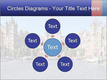 Victoria Terminus in Mumbai PowerPoint Templates - Slide 78