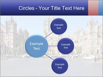 Victoria Terminus in Mumbai PowerPoint Templates - Slide 79