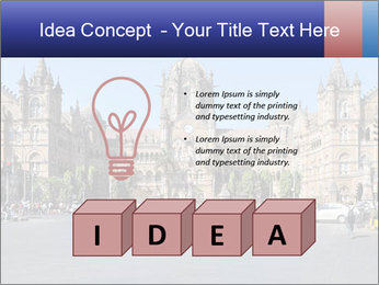 Victoria Terminus in Mumbai PowerPoint Templates - Slide 80